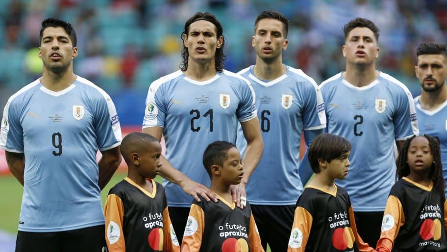 Luis Suarez,Edinson Cavani,Rodrigo Bentancur