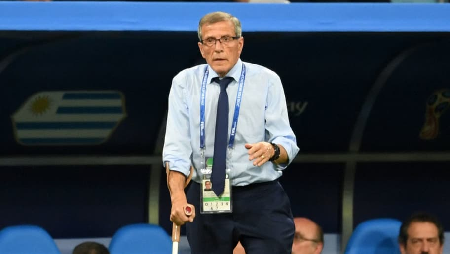 71-Year-Old Uruguay Manager Oscar Tabarez Signs New Contract to