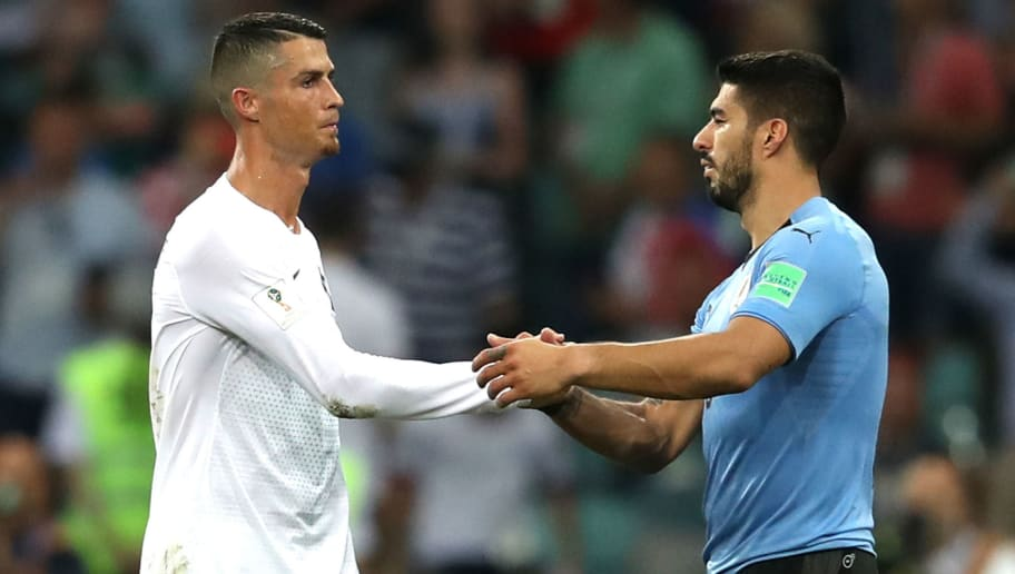 Luis Suarez Snubs Cristiano Ronaldo as He Picks His Top Five Strikers of All Time