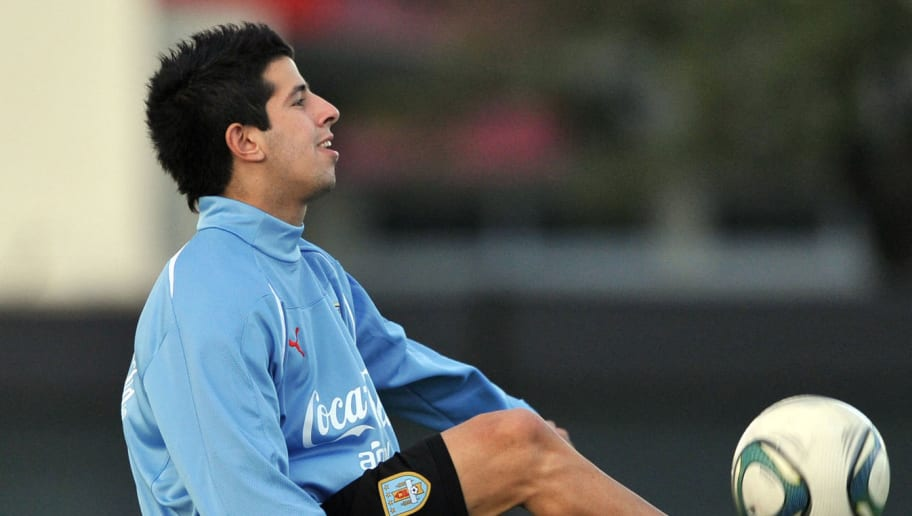 Uruguayan U-20 forward Pablo Ceppelini c