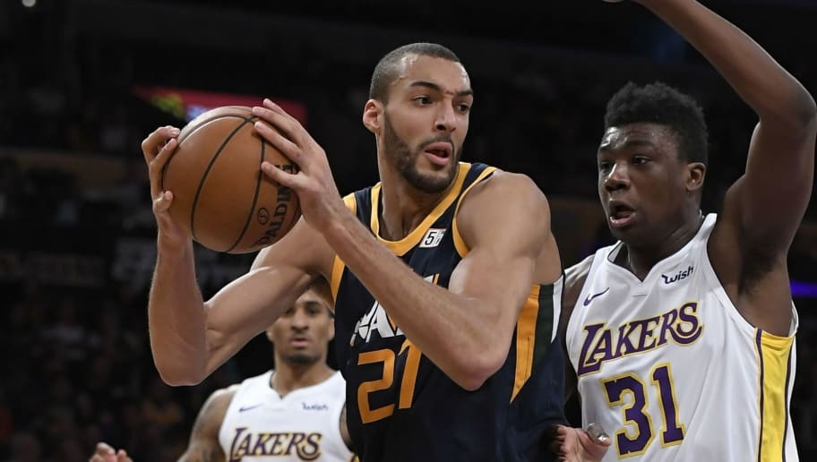 Rudy Gobert,Thomas Bryant