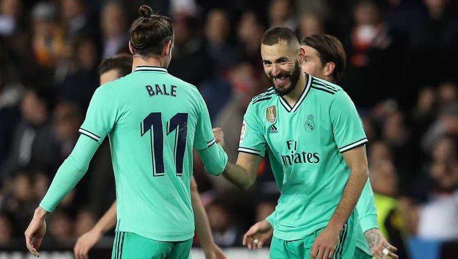 Karim Benzema,Gareth Bale