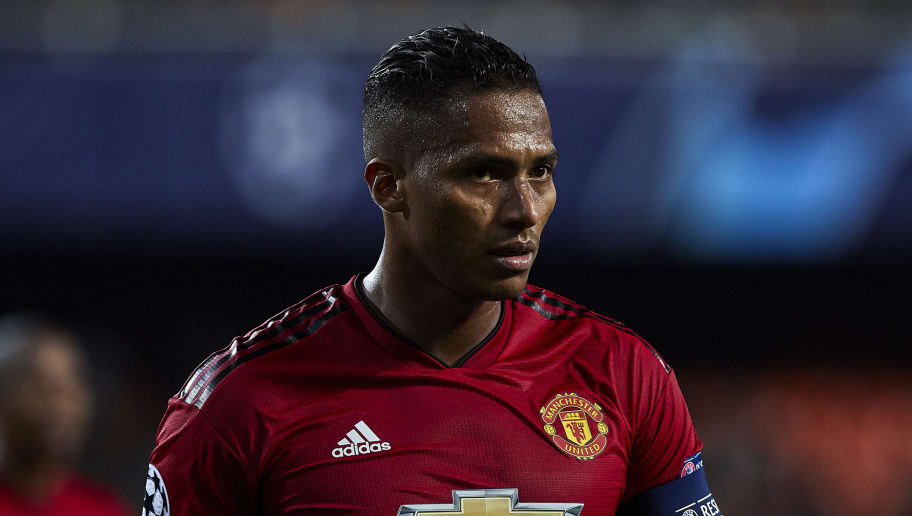VALENCIA, SPAIN - DECEMBER 12: Antonio Valencia of Valencia CF looks on during the UEFA Champions League Group H match between Valencia and Manchester United at Estadio Mestalla on December 12, 2018 in Valencia, Spain. (Photo by Quality Sport Images/Getty Images)