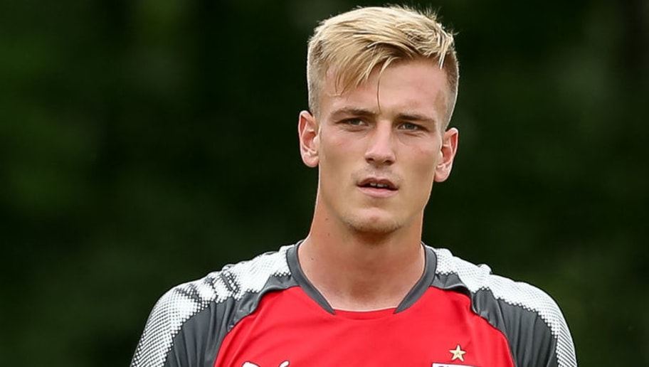 GRASSAU, GERMANY - JULY 10: Alexander Groiss of VfB Stuttgart looks on during the Training Camp of VfB Stuttgart on July 10, 2017 in Grassau, Germany. (Photo by TF-Images/TF-Images via Getty Images)