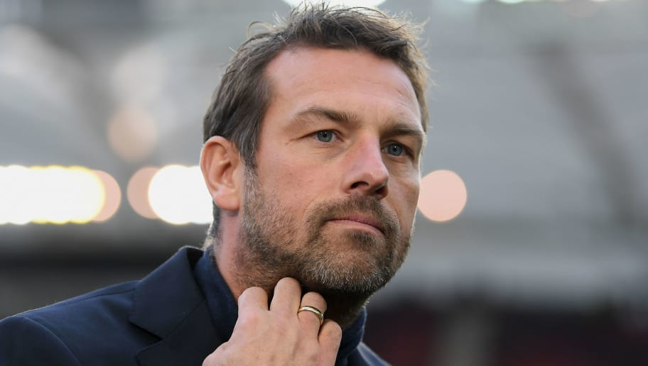 STUTTGART, GERMANY - DECEMBER 01: Head coach Markus Weinzierl Stuttgart seen prior to the Bundesliga match between VfB Stuttgart and FC Augsburg at Mercedes-Benz Arena on December 01, 2018 in Stuttgart, Germany. (Photo by Matthias Hangst/Bongarts/Getty Images)