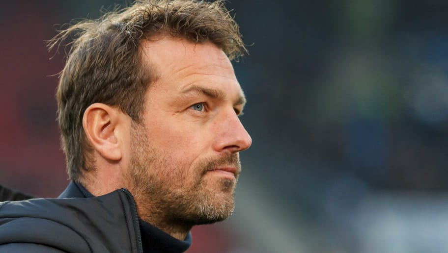 STUTTGART, GERMANY - DECEMBER 15: Head coach Markus Weinzierl of VfB Stuttgart looks on during the Bundesliga match between VfB Stuttgart and Hertha BSC at Mercedes-Benz Arena on December 15, 2018 in Stuttgart, Germany. (Photo by TF-Images/TF-Images via Getty Images)