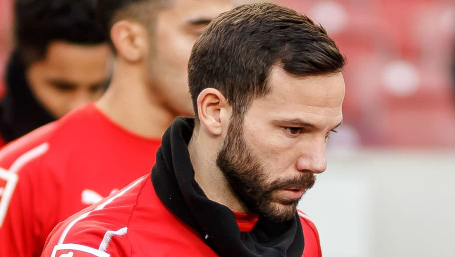 STUTTGART, GERMANY - DECEMBER 15: Gonzalo Castro of VfB Stuttgart looks on during the Bundesliga match between VfB Stuttgart and Hertha BSC at Mercedes-Benz Arena on December 15, 2018 in Stuttgart, Germany. (Photo by TF-Images/TF-Images via Getty Images)