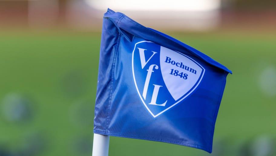 Echfahne mit dem Logo vom VFL Bochum