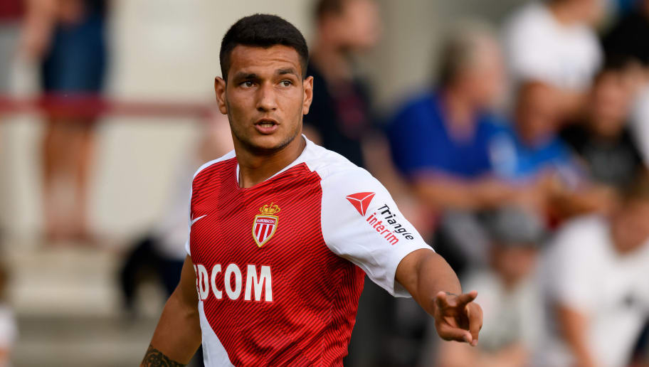 VERL, GERMANY - JULY 25: Rony Lopes of AS Monaco gestures during the Friendly match between VfL Bochum and AS Monaco at Stadion an der Poststraße on July 25, 2018 in Verl, Germany. (Photo by TF-Images/Getty Images)