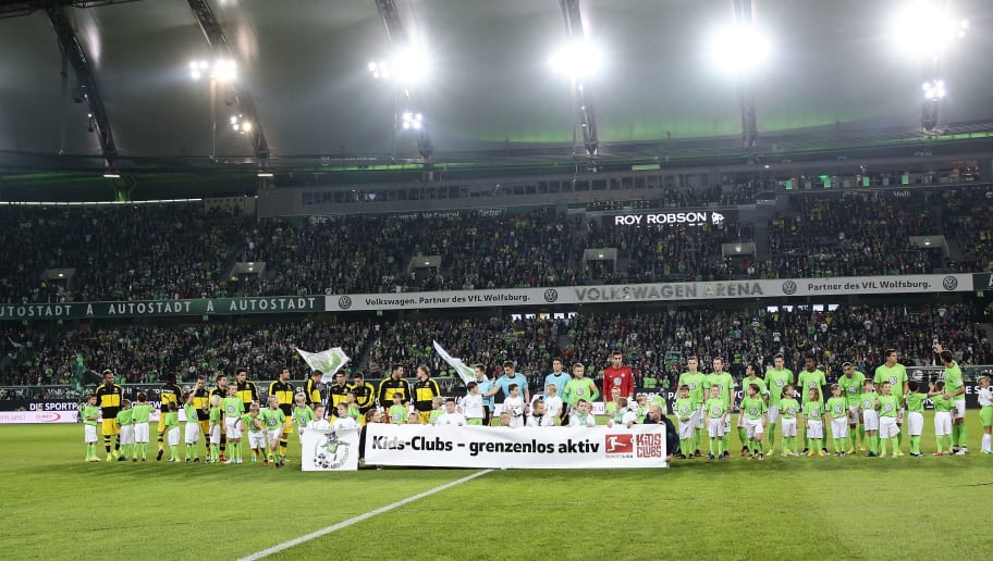 WOLFSBURG, GERMANY - SEPTEMBER 20:  A generale view before the Bundesliga match between VfL Wolfsburg and Borussia Dortmund at Volkswagen Arena on September 20, 2016 in Wolfsburg, Germany.  (Photo by Oliver Hardt/Bongarts/Getty Images)