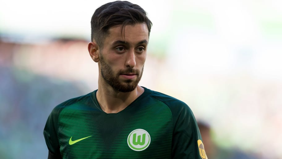 WOLFSBURG, GERMANY - SEPTEMBER 29: Yunus Malli of VfL Wolfsburg looks on during the Bundesliga match between VfL Wolfsburg and Borussia Moenchengladbach at Volkswagen Arena on September 29, 2018 in Wolfsburg, Germany. (Photo by TF-Images/Getty Images)
