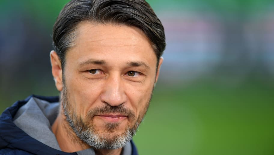 WOLFSBURG, GERMANY - OCTOBER 20:  Niko Kovac, Manager of Bayern Munich looks on prior to the Bundesliga match between VfL Wolfsburg and FC Bayern Muenchen at Volkswagen Arena on October 20, 2018 in Wolfsburg, Germany.  (Photo by Stuart Franklin/Bongarts/Getty Images)