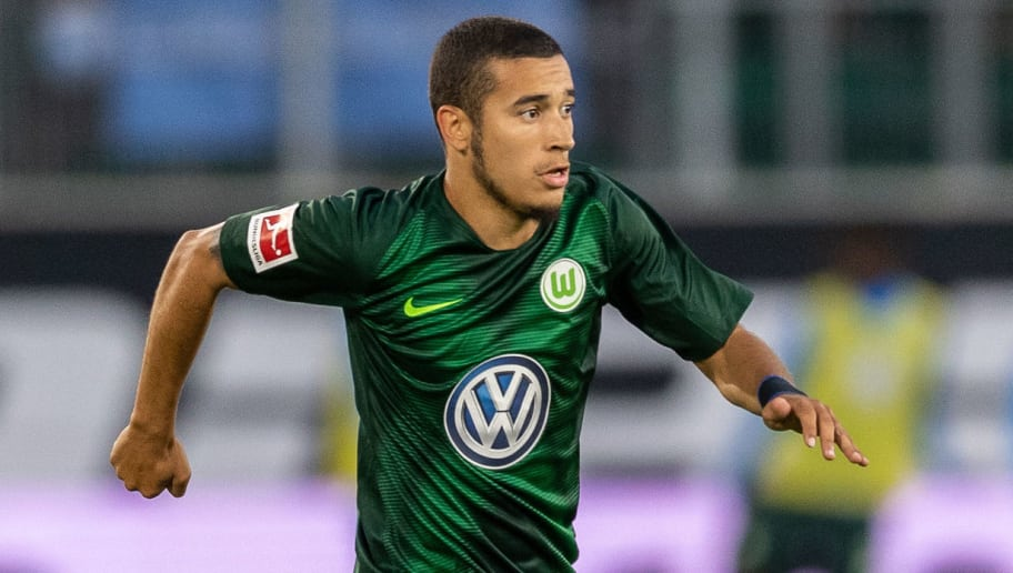 WOLFSBURG, GERMANY - AUGUST 11: William of VfL Wolfsburg runs with the ball during the Pre Season friendly match between VfL Wolfsburg and SSC Napoli at Volkswagen Arena on August 11, 2018 in Wolfsburg, Germany. (Photo by Boris Streubel/Getty Images)