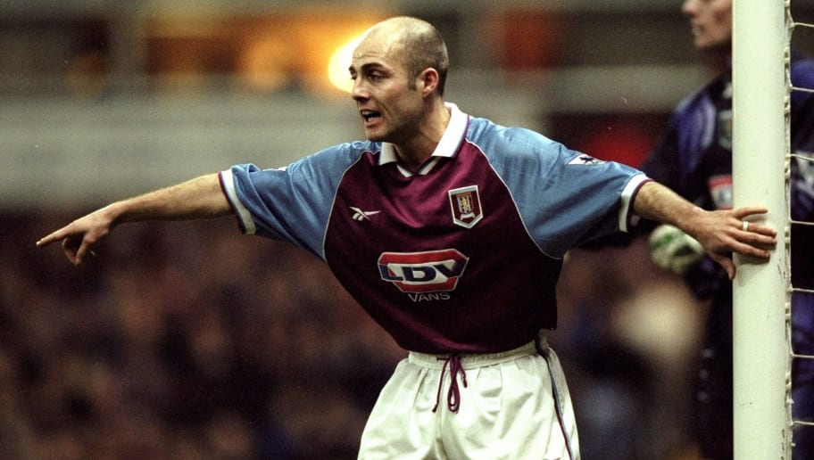 Villa v Arsenal Alan Wright