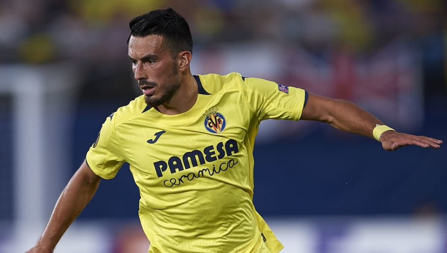 VILLAREAL, SPAIN - SEPTEMBER 20:  Nicola Sansone of Villarreal in action during the UEFA Europa League Group XX match between Villarreal CF and Rangers at Estadio de la Ceramica on September 20, 2018 in Villareal, Spain.  (Photo by Quality Sport Images/Getty Images)