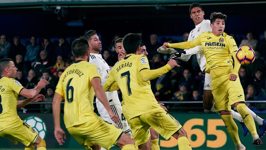 Villarreal Real Madrid Les Notes De La Contre performance Madril ne min
