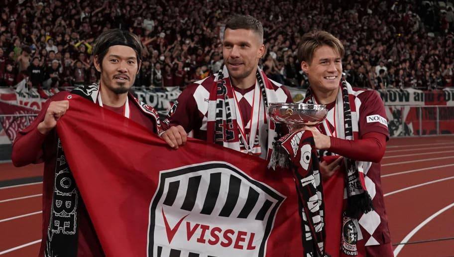 Hotaru Yamaguchi,Lukas Podolski,Gotoku Sakai