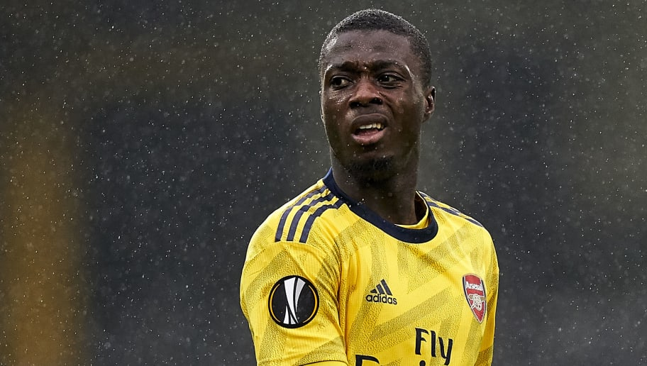 Thierry Henry Tells Nicolas Pepe to Ignore Critics After Challenging Start at Arsenal
