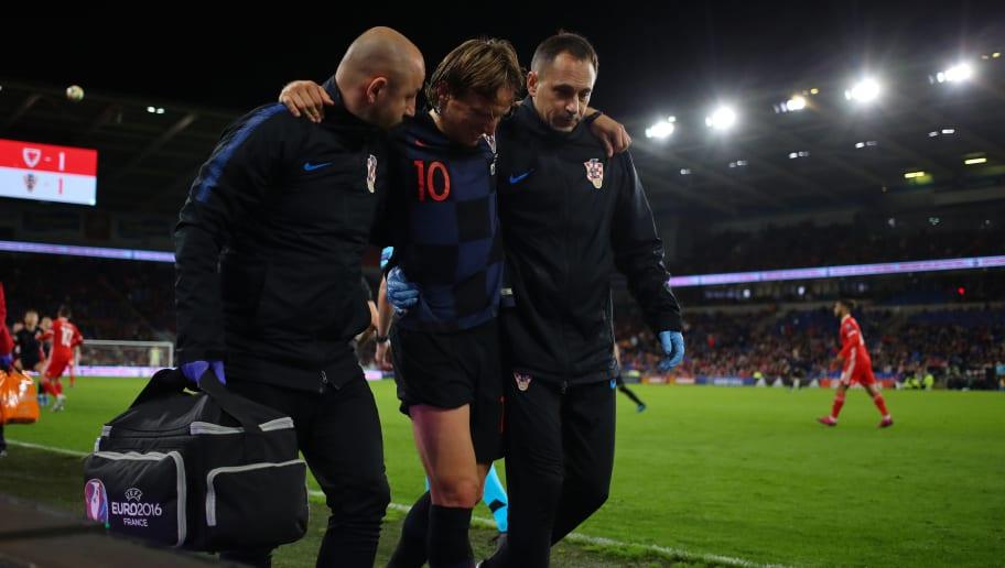 Real Madrid Provide Injury Update on Luka Modric After Midfielder Picks Up Knock on Croatia Duty
