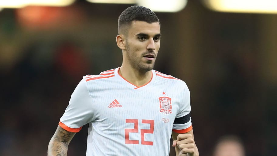 CARDIFF, WALES - OCTOBER 11: Dani Ceballos of Spain during the International Friendly match between Wales and Spain on October 11, 2018 in Cardiff, United Kingdom. (Photo by James Williamson - AMA/Getty Images)