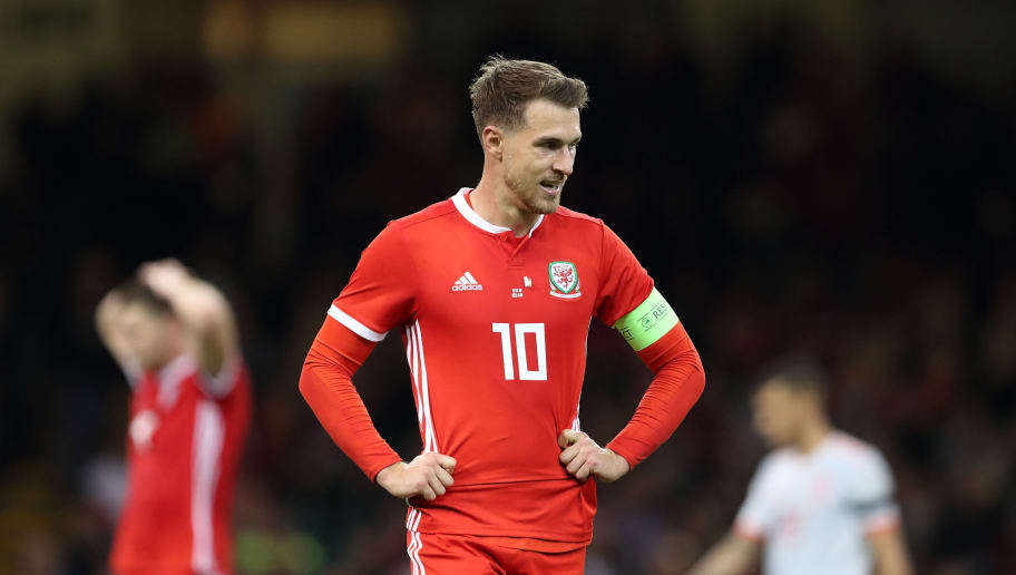 buy online 6db95 2395b Wales Midfielder Aaron Ramsey Pulls Out of Squad to Face ...