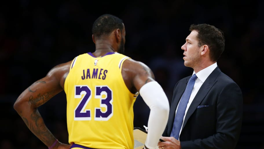 LeBron James,Luke Walton