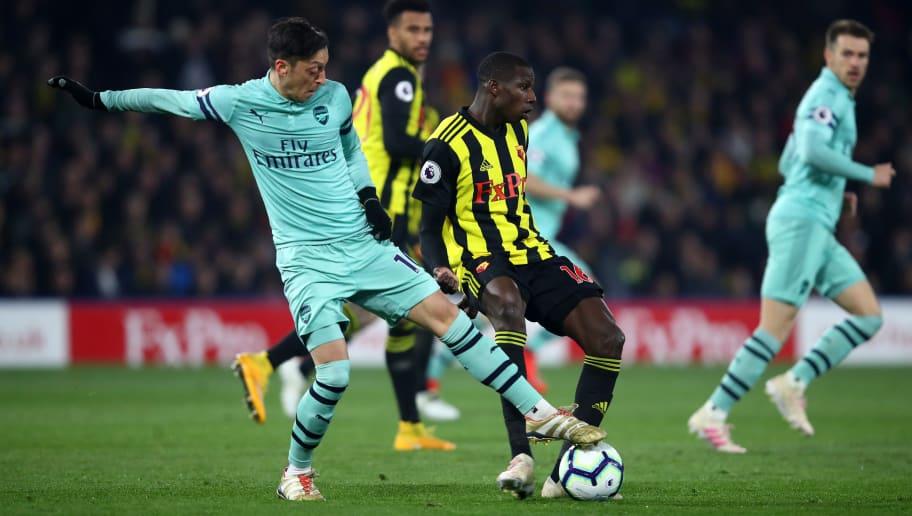 Mesut Ozil,Abdoulaye Doucoure