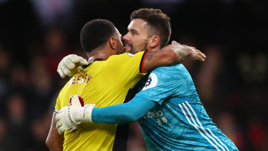 Ben Foster,Troy Deeney