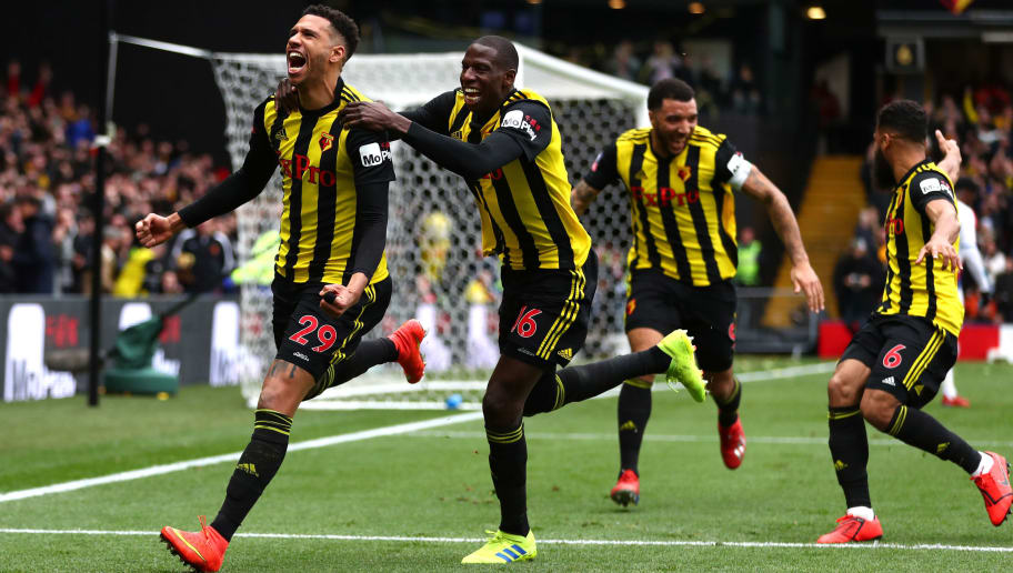 Etienne Capoue,Abdoulaye Doucoure,Troy Deeney,Adrian Mariappa
