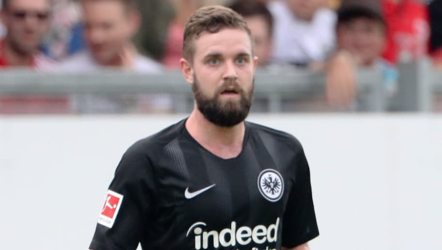 WIESBADEN, GERMANY - JULY 21: Marc Stendera of Eintracht Frankfurt during the Pre Season Friendly Match between SV Wehen Wiesbaden and Eintracht Frankfurt at BRITA-Arena on July 21, 2018 in Wiesbaden, Germany. (Photo by Andreas Schlichter/Getty Images)