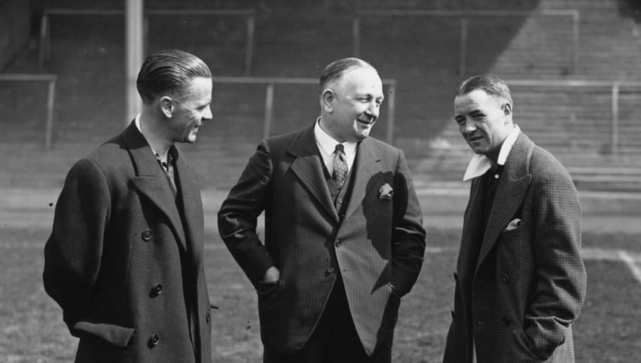 Herbert Chapman,Alex James
