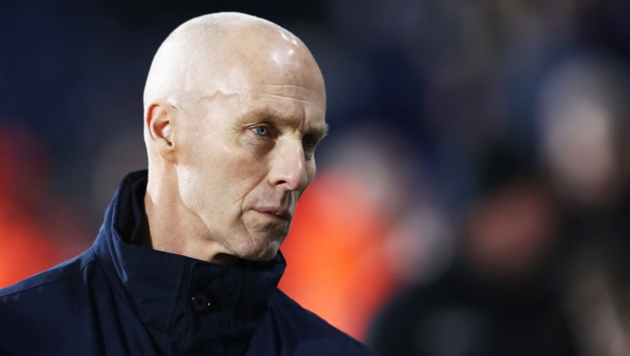 WEST BROMWICH, ENGLAND - DECEMBER 14: Bob Bradley, Manager of Swansea City looks on during the Premier League match between West Bromwich Albion and Swansea City at The Hawthorns on December 14, 2016 in West Bromwich, England.  (Photo by David Rogers/Getty Images)