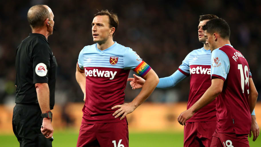 Mark Noble,Mike Dean
