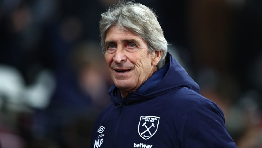 West Ham 'Make Contact' With Candidates in Anticipation of Manuel Pellegrini Sacking