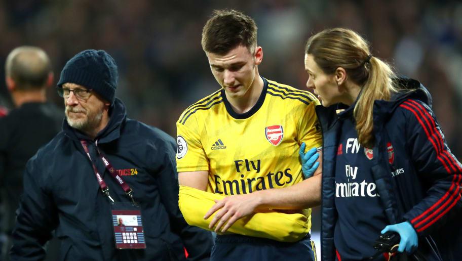 Ausgekugelte Schulter: Arsenal muss monatelang auf Tierney verzichten