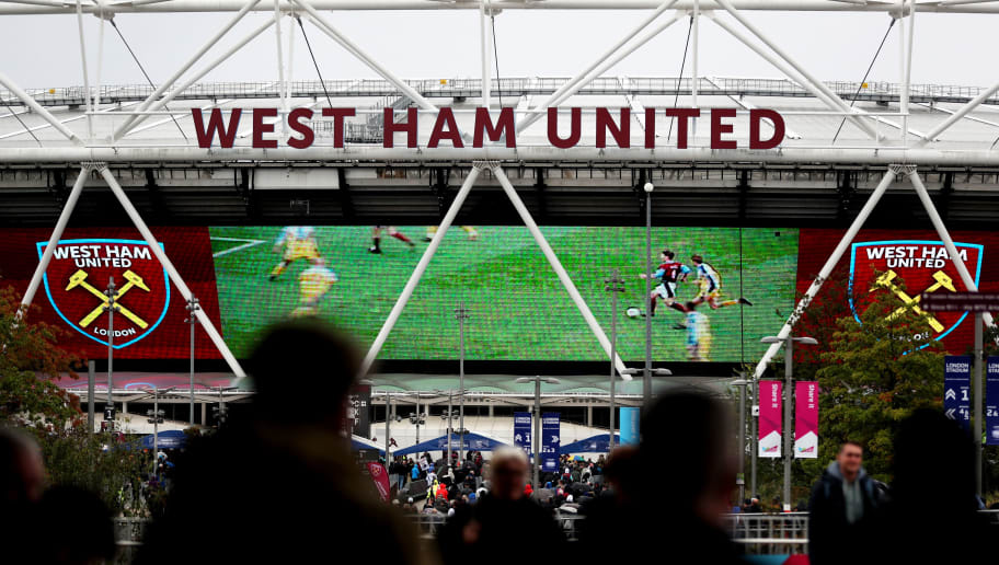 LONDON, ENGLAND - SEPTEMBER 23:  General view outside the stadium as fans arrive prior to the Premier League match between West Ham United and Chelsea FC at London Stadium on September 23, 2018 in London, United Kingdom.  (Photo by Dan Istitene/Getty Images)