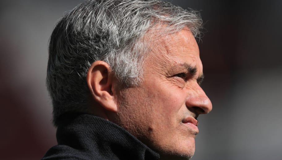 LONDON, ENGLAND - SEPTEMBER 29: Jose Mourinho manager of Manchester United during the Premier League match between West Ham United and Manchester United at London Stadium on September 29, 2018 in London, United Kingdom. (Photo by Marc Atkins/Getty Images)