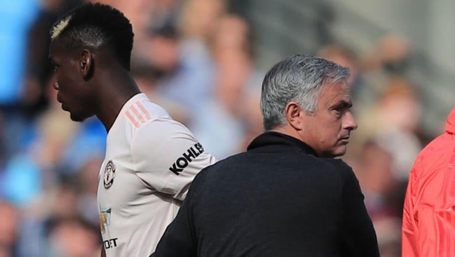 Paul Pogba,Jose Mourinho