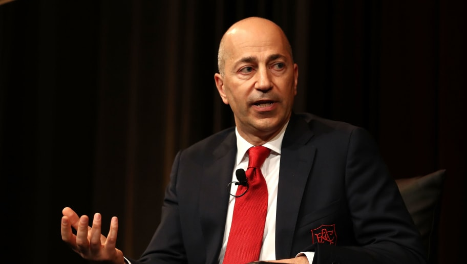 SYDNEY, AUSTRALIA - JULY 14:  Arsenal FC CEO Ivan Gazidis speaks during  the Western Sydney Wanderers Gold Star Luncheon at The Westin on July 14, 2017 in Sydney, Australia.  (Photo by Ryan Pierse/Getty Images)