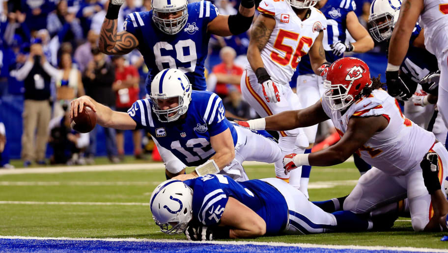 Image result for colts v chiefs playoffs
