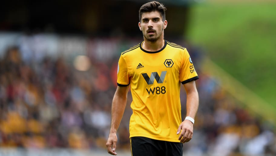 WOLVERHAMPTON, ENGLAND - SEPTEMBER 16: Ruben Neves of Wolverhampton Wanderers during the Premier League match between Wolverhampton Wanderers and Burnley FC at Molineux on September 16, 2018 in Wolverhampton, United Kingdom. (Photo by Sam Bagnall - AMA/Getty Images)