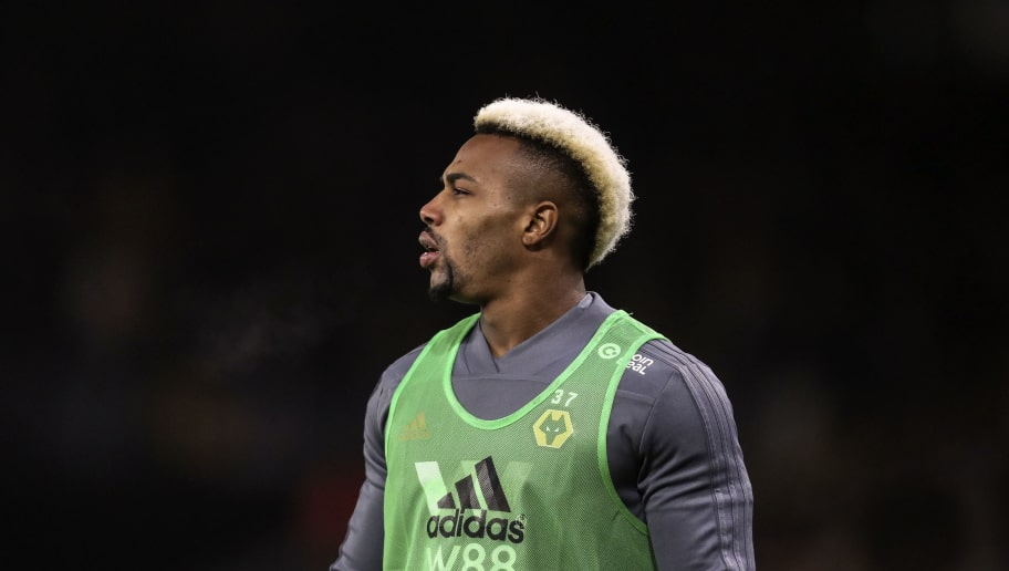 WOLVERHAMPTON, ENGLAND - JANUARY 02: Adama Traore of Wolverhampton Wanderers during the Premier League match between Wolverhampton Wanderers and Crystal Palace at Molineux on January 2, 2019 in Wolverhampton, United Kingdom. (Photo by James Baylis - AMA/Getty Images)