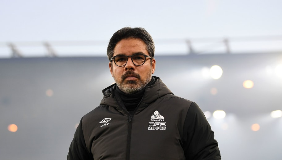 WOLVERHAMPTON, ENGLAND - NOVEMBER 25:  David Wagner, Manager of Huddersfield looks on prior to the Premier League match between Wolverhampton Wanderers and Huddersfield Town at Molineux on November 25, 2018 in Wolverhampton, United Kingdom.  (Photo by Gareth Copley/Getty Images)