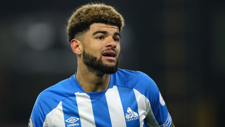 WOLVERHAMPTON, ENGLAND - NOVEMBER 25: Philip Billing of Huddersfield Town during the Premier League match between Wolverhampton Wanderers and Huddersfield Town at Molineux on November 25, 2018 in Wolverhampton, United Kingdom. (Photo by Matthew Ashton - AMA/Getty Images)
