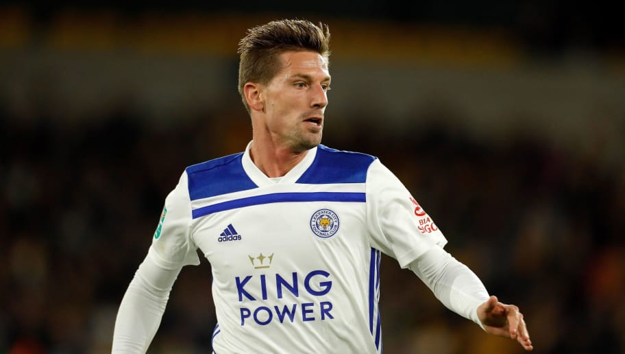 WOLVERHAMPTON, ENGLAND - SEPTEMBER 25: Adrien Silva of Leicester City during the Carabao Cup Third Round match between Wolverhampton Wanderers and Leicester City at Molineux on September 25, 2018 in Wolverhampton, England. (Photo by Malcolm Couzens/Getty Images)