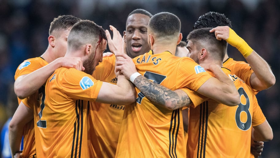 Willy Boly,Matt Doherty,Romain Saïss,Ruben Neves