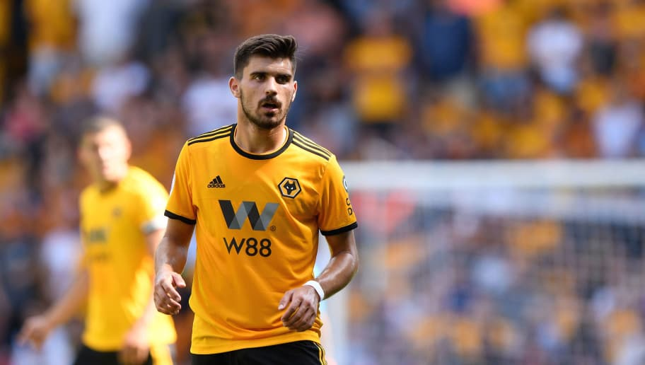 WOLVERHAMPTON, ENGLAND - AUGUST 04: Ruben Neves of Wolverhampton Wanderers during a pre-season friendly between Wolverhampton Wanderers and Villarreal at Molineux on August 4, 2018 in Wolverhampton, England. (Photo by Sam Bagnall - AMA/Getty Images)