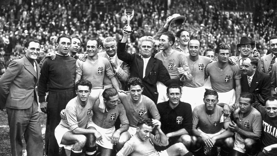 WORLD CUP-1938-ITALY-TEAM-CUP