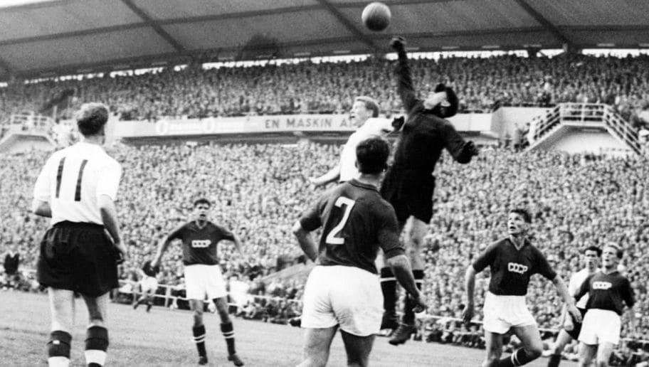 WORLD CUP-1958-ENGLAND-USSR KJ02-BIO-YACHINE