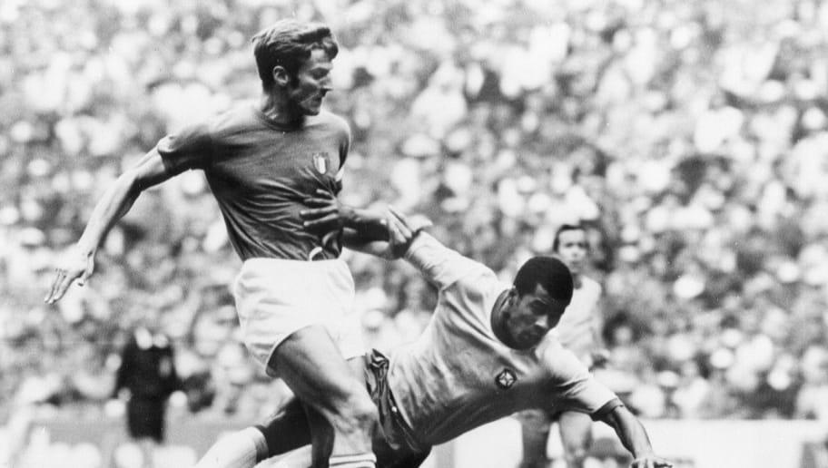 COUPE DU MONDE-1970-BRÉSIL-ITALIE